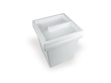 Koš ONDA 5l, 170x170x205 mm, plast, antracit(3108007602)