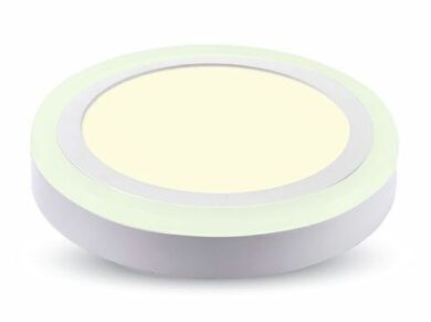 LED svítidlo přisazené Twin prům.142 mm 8W neutrální bílá 800 lm(3201501607)