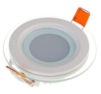LED svítidlo vestavné Glass prům.160 mm 12W neutrální bílá 840 lm(3201565608)