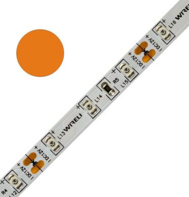 Color LED pásek WIRELI 3528  60 604nm 4,8W 0,4A 12V (oranžová)(3202122609)