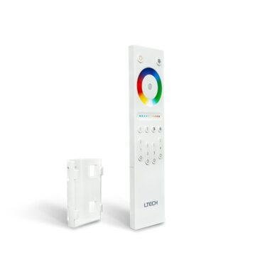 Dotykový čtyřzónový inteligentní RGB+CTA dálkový ovladač Q5(3204000413)