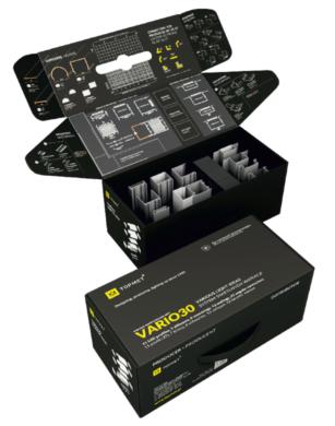 Vzorkový kufr s LED profily WIRELI VARIO 2021(3205151120)