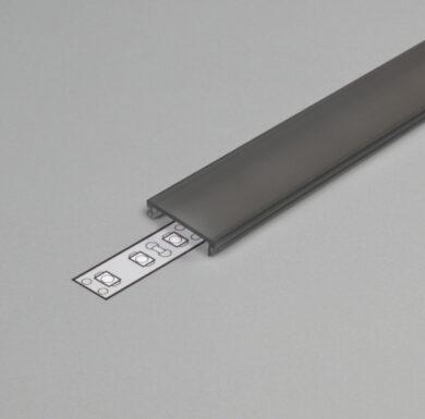 Difuzor WIRELI F KLIP ČERNÝ 2m (metráž)(3209071600)