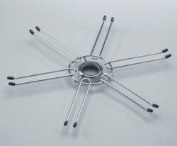 držák sklenic průměr 400mm - chrom