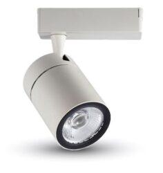 LED projektor 4-fázový pro lištový systém bílý 35W neutrální bílá 2500 lm