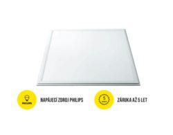 LED panel 600x600 mm 40W bílá neutrální 4000 lm IP65