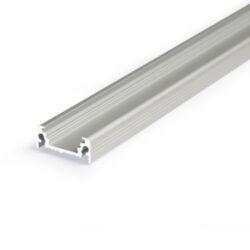 Profil WIRELI11 SURFACE BC/UX hliník anod 2m (metráž)-Nejprodávanější univerzální přisazený profil s bohatou výbavou doplňků pro montáž a různými druhy difuzorů. Snadná práce a profesionální vzhled.