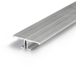 Profil WIRELI BACK10 A/UX hliník surový, 2m (metráž)-Profil pro podsvícení obrazů a uměleckých děl