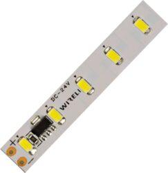 LED pásek hybridní nestmívatelný 5630  70 WC 3150lm 25W 1,05A 24V (bílá studená)-Nestmívatelný vysocesvítivý napěťově napájený LED pásek s proudovým buzením LED diod a snadným zpracováním.