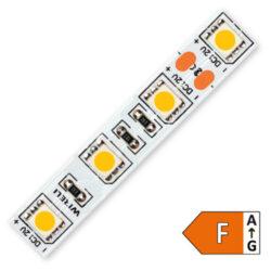 LED pásek 5050 60 WIRELI SS 1140lm 14,4W 1,2A 12V (extra teplá)-Extra teplé bílé světlo odpovídá nejlépe světlu klasických žárovek a světlu svíce. Navozuje pocit klidu, tepla a pohody. Hodí se pro odpočinek a relaxaci. Doporučujeme pro rustikální interiéry, rustikální kuchyně, ložnice, nasvětlení dřeva, přírodního kamene, odpočinkové zóny nebo prostředí s teplými barvami.  AKCE PLATÍ DO VYPRODÁNÍ ZÁSOBY ! SKLADOVÁ ZÁSOBA EXTRA TEPLÉ BARVY BUDE POUZE V ČIPU 3528 60 A 120 LED A 2835 60 LED. DALŠÍ TYPY LED PÁSKŮ BUDOU V EXTRA TEPLÉ A EXTRA STUDENÉ VYRÁBĚNY ZAKÁZKOVĚ.