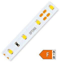 LED pásek 2835 (50m) 60 Optima WW 1200lm 14,4W 1,2A 12V (bílá teplá)-Cenově optimalizovaný LED pásek středního výkonu pro všeobecné použití.