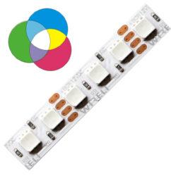 RGB LED pásek 3838  224 WIRELI 18W 0,75A 24V-RGB LED pásek s vysokou hustotou LED.