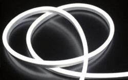 LED NEON 10x10 MM WIRELI WC 420lm 7W 0,58A 12V (bílá studená)-LED NEON s vysokým krytím IP.