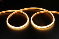 LED NEON 5,5x5 MM WIRELI WT 460lm 6W 0,5A 12V (bílá teplá)-LED NEON s vysokým krytím IP.