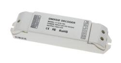 Převodník DMX512/PWM jednokanálový-Umožňuje řízení PWM LED sestav signálem DMX512