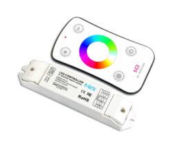Dotykový dálkový ovladač RGB s přijímačem-Pro řízení RGB pásků