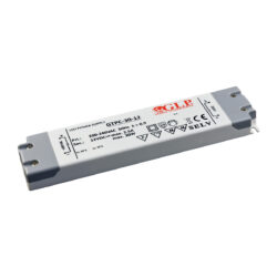 Zdroj napětí 12V 30W 2,5A IP20 GLP typ GTPC-30-12-Interiérový a nábytkový napěťový napájecí zdroj s krytými svorkami 12V/30W. Speciální řada se všemi potřebnými certifikáty pro nábytek a interiér.