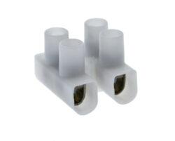 """Svorkovnice šroubovací """"čokoláda"""", max. 4mm2, 2x1pozice-Šroubovací spojka pro jednoduché nastavení dvoulinky"""