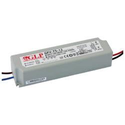 Zdroj napětí 24V 72W(!!!) 3A IP67 GLP typ GPV-75-24-Standardní napěťový napájecí zdroj pro LED v krytí IP67 24V/75W