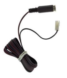 Kabel redukce JST samice / JACK samice, délka 2m, ks-Pro připojení zdroje s napájecím konektorem k systému JST