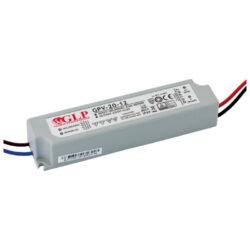 Zdroj napětí 24V  20W 0,83A IP67 GLP typ GPV-20-24-Standardní napěťový napájecí zdroj pro LED v krytí IP67 24V/20W