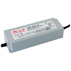 Zdroj napětí 24V 144W 6A IP67 GLP typ GPV-150-24-Standardní napěťový napájecí zdroj pro LED v krytí IP67 24V/150W