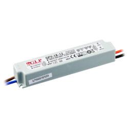 Zdroj napětí 12V 18W 1,5A IP67 GLP typ GPV-18-12-Standardní napěťový napájecí zdroj pro LED v krytí IP67 12V/18W