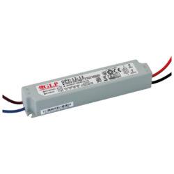 Zdroj napětí 24V 12W 0,5A IP67 GLP typ GPV-12-24-Standardní napěťový napájecí zdroj pro LED v krytí IP67 24V/12W