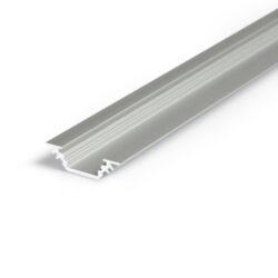 Profil WIRELI TRIO BC/ 90/45° hliník anoda 2m (metráž)-Miniaturní rohový profil 45°nebo pro kolmé zafrézování do podložky.