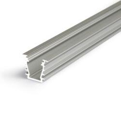 Profil WIRELI DEEP10 BC/UX stříbrný elox, 2m (metráž)-Hliníkový LED osvětlovací profil s velkou zástavnou hloubkou pro vytvoření souvislé světelné linie.