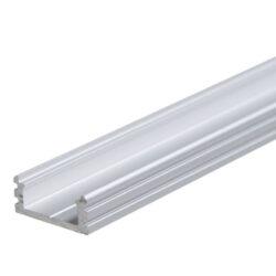 Profil WIRELI 01 stříbrný elox, 20x8x4000mm (metráž)-Universální přisazený hliníkový LED profil.