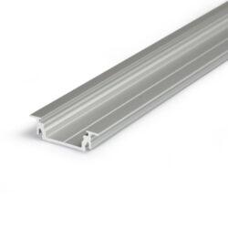 Profil GROOVE LINE 14 hliník anoda 2000mm-Univerzální profil k zafrézování s bohatou výbavou doplňků pro montáž a různými druhy difuzorů. Snadná práce a profesionální vzhled.
