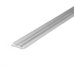 Profil WIRELI FIX12 montážní lišta, hliník surový, 1m (metráž)-Délku 1000mm je možno koupit jen zakázkově proti závazné objednávce.