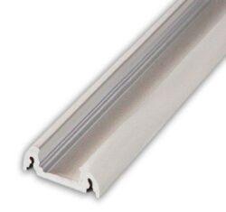 Profil WIRELI FINLANDIA10 C/ stříbrný elox, 2m (metráž)-Moderní kvalitně propracovaný profil s oblými hranami pro přisazenou montáž na desku.