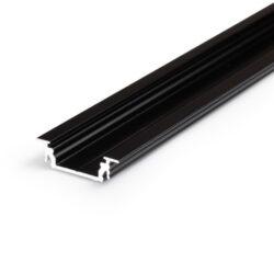 Profil WIRELI GROOVE14 EF/Y černá anoda, 2m (metráž)-Univerzální profil k zafrézování s bohatou výbavou doplňků pro montáž a různými druhy difuzorů. Snadná práce a profesionální vzhled.