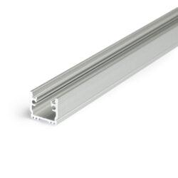 Profil WIRELI FLOOR12 K/U hliník anoda, 2m (metráž)-Pochůzný podlahový profil do obkladů, dlažby nebo drážky.