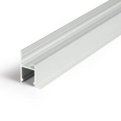 Profil WIRELI FRAME14 BC/Q hliník anoda, 2m (metráž)-Profesionální profil pro zakončení sádrokartonu světelnou linkou. Jako kvalitnější a levnější varianta nahrazuje původní profil WIRELI 23 sádrokarton roh.