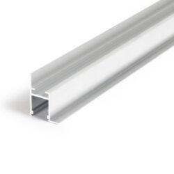 Profil WIRELI FRAME14 BC/Q hliník surový, 2m (metráž)-SpeciálníProfesionální profil pro zakončení sádrokartonu světelnou linkou.