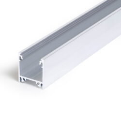 Profil WIRELI LINEA20 EF/TY hliník surový, 2m (metráž)-Moderní profil pro stropní liniová LED svítidla.