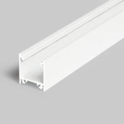 Profil WIRELI LINEA20 EF/TY bílý lak, 2m (metráž)-Moderní profil pro stropní liniová LED svítidla.