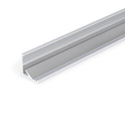 Profil WIRELI CABI12 E/ hliník surový, 2m (metráž)-Universální rohový LED profil umožňující montáž se směrem svitu 60°nebo 30°.