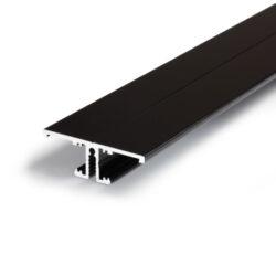 Profil WIRELI BACK10 A/UX černá anoda, 2m (metráž)-Profil pro podsvícení obrazů a uměleckých děl.