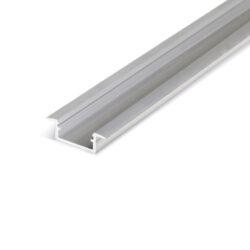 Profil WIRELI BEGTIN12 J/S hliník surový, 2m (metráž)-Profil vkládaný do vyfrézované drážky.