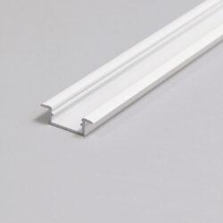 Profil WIRELI BEGTIN12 J/S bílý lak, 2m (metráž)-Profil vkládaný do vyfrézované drážky.