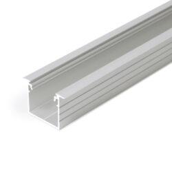 Profil WIRELI LINEA-IN 20  EF/TY hliník surový, 2m (metráž)