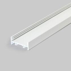 Profil WIRELI VARIO30-01 bílý komaxit 2m (metráž)-Hliníkový nakládaný profil.
