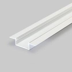 Profil WIRELI VARIO30-04 bílý komaxit 2m (metráž)-Hliníkový vkládaný profil pro zapracování do omítky.