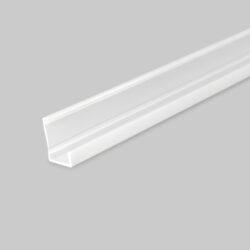 Profil WIRELI SLASH8 opal plast, 2m (metráž)-Profil vkládaný do vyfrézované drážky.