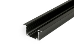 Profil WIRELI PHIL VKLÁDANÝ A černá anoda, 2m (metráž)