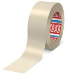 Lepící páska maskovací TesaKrep 4317, šířka 50mm, návin 50m-Jemně krepovaná papírová maskovací páska